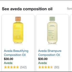 Aveda composition oil